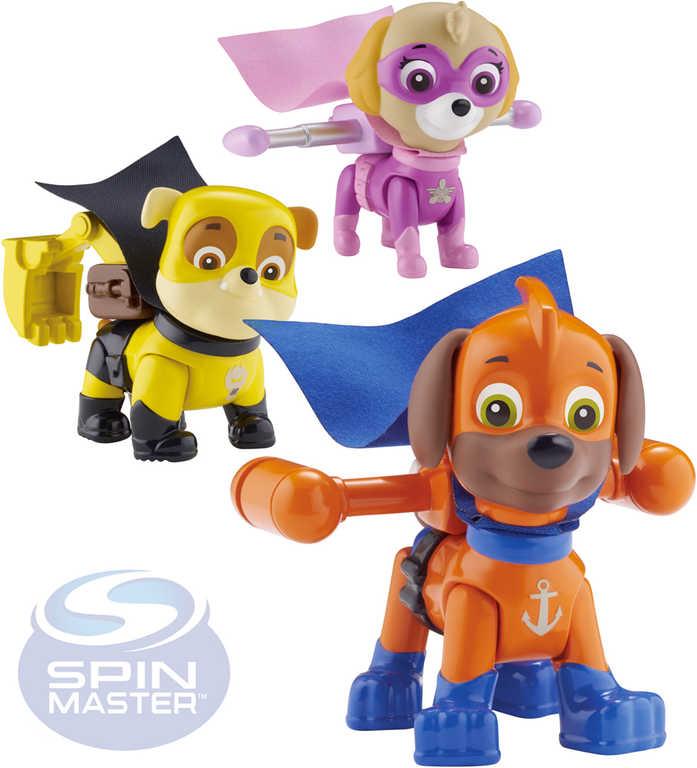 SPIN MASTER Figurka Paw Patrol (Tlapková Patrola) akční set s příslušenstvím plast 9 druhů