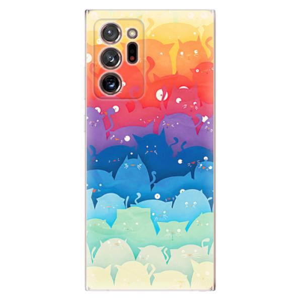 Odolné silikonové pouzdro iSaprio - Cats World - Samsung Galaxy Note 20 Ultra