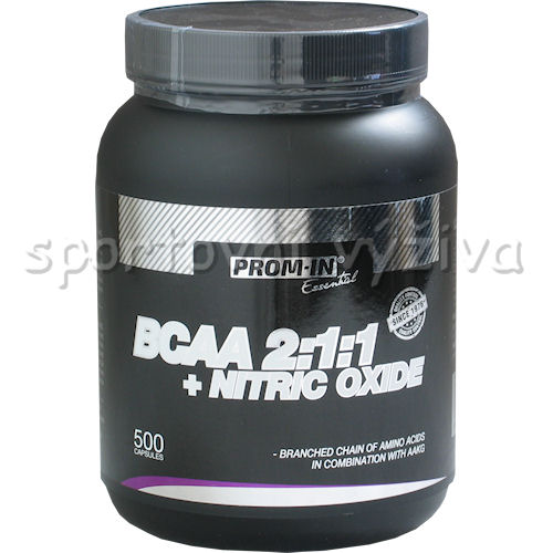 BCAA 2:1:1 + Nitric Oxide 500 kapslí