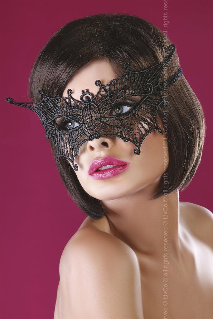 Maska Model 11 - LivCo Corsetti - Černá/uni