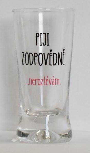 Panák - Piji zodpovědně