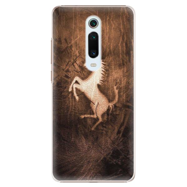 Plastové pouzdro iSaprio - Vintage Horse - Xiaomi Mi 9T Pro