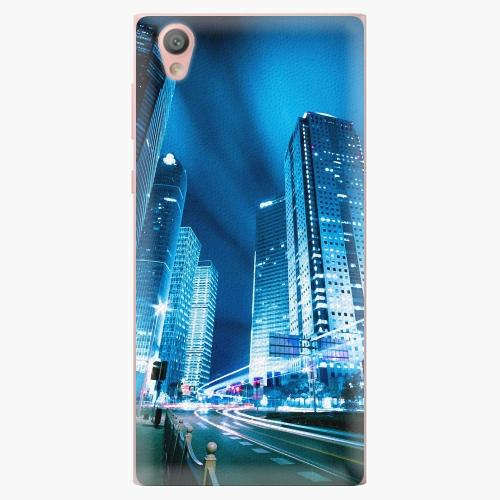Plastový kryt iSaprio - Night City Blue - Sony Xperia L1