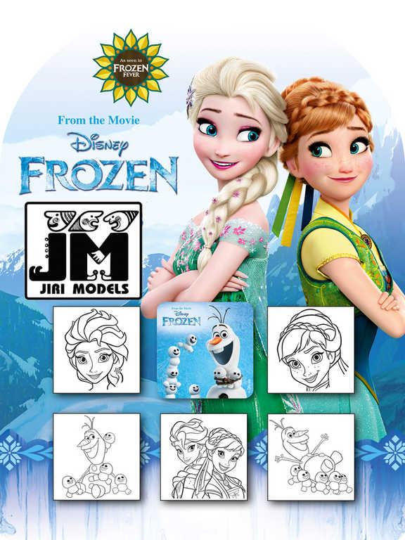 JIRI MODELS Razítka 5+1 Ledové Království oslava (Frozen)