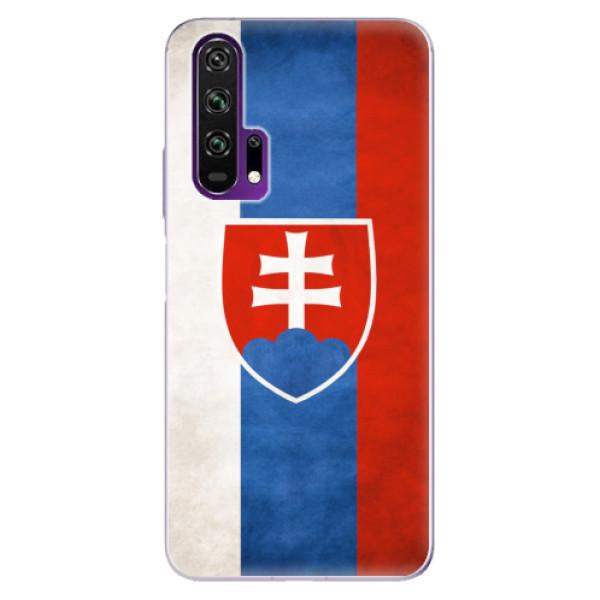 Odolné silikonové pouzdro iSaprio - Slovakia Flag - Honor 20 Pro