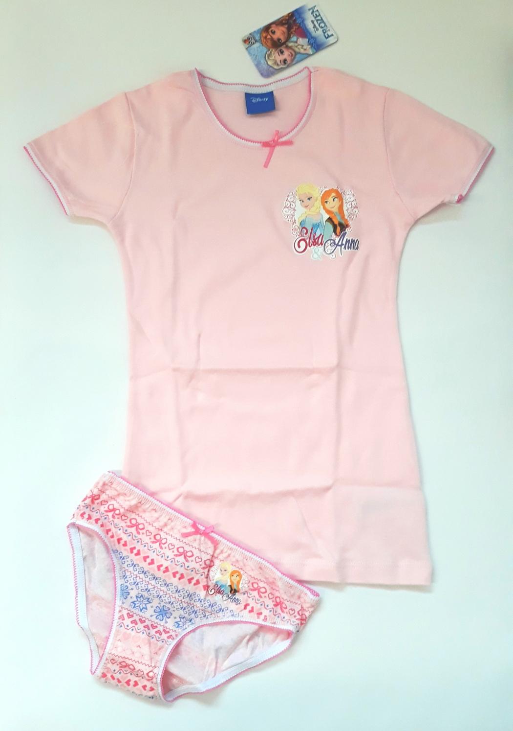 Dívčí souprava Disney WD29342 - Planetex - Růžová-potisk/8-9