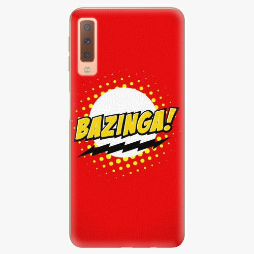 Plastový kryt iSaprio - Bazinga 01 - Samsung Galaxy A7 (2018)