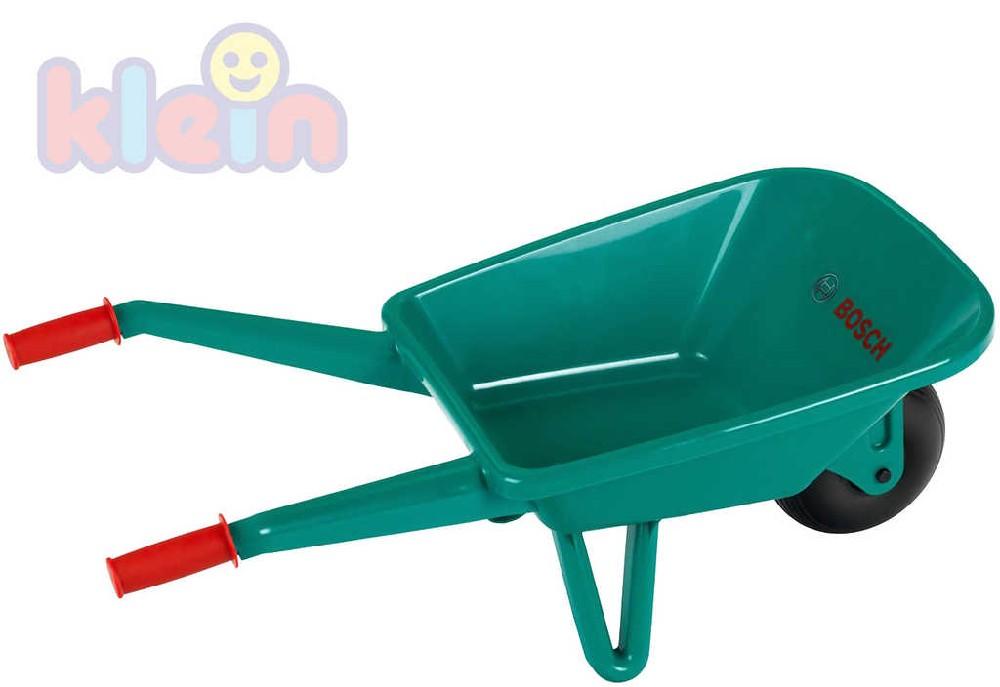 KLEIN Kolečko dětské zahradní kolečka zelené plastové Bosch