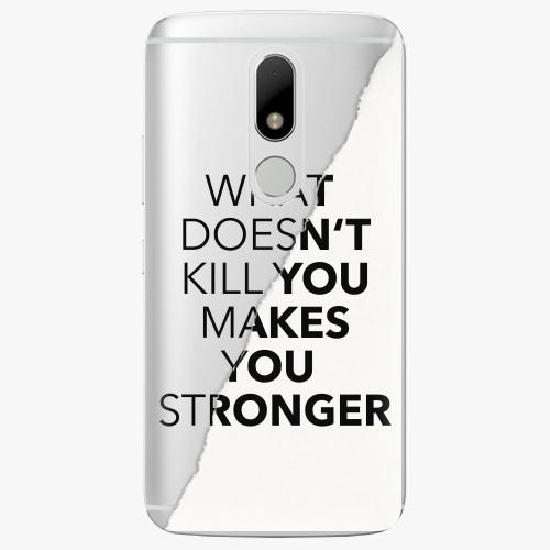 Plastový kryt iSaprio - Makes You Stronger - Lenovo Moto M