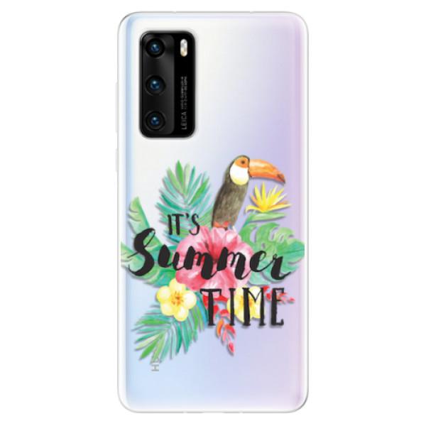 Odolné silikonové pouzdro iSaprio - Summer Time - Huawei P40