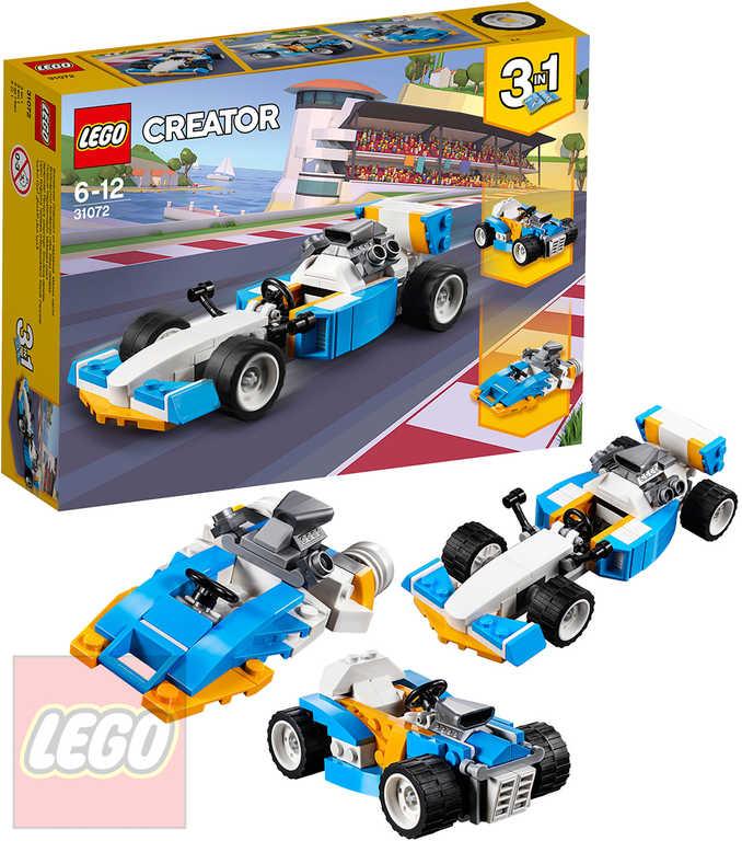LEGO CREATOR Extrémní motory 3v1 STAVEBNICE 31072