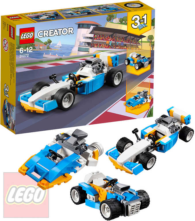 LEGO CREATOR Extrémní motory 3v1 31072