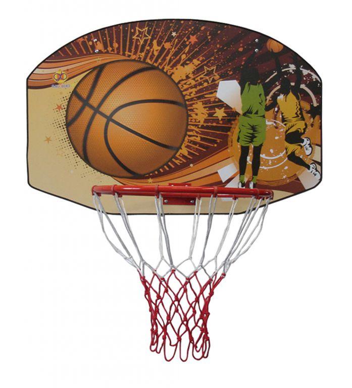 Basketbalová deska 90 x 60 cm s košem