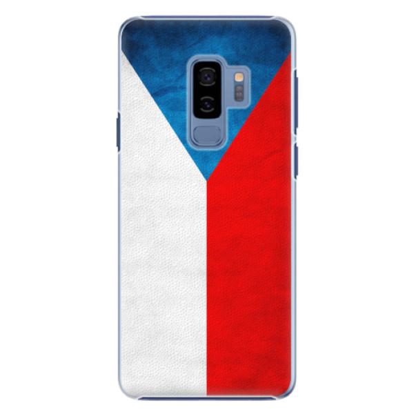 Plastové pouzdro iSaprio - Czech Flag - Samsung Galaxy S9 Plus