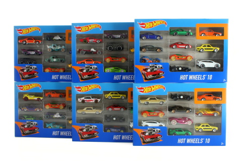 Hot Wheels 10ks angličák 54886