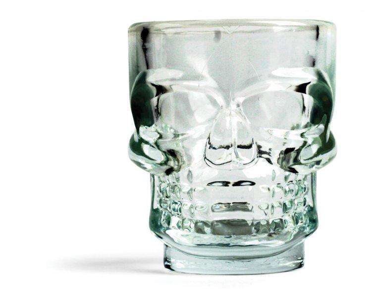Set sklenic - lebka