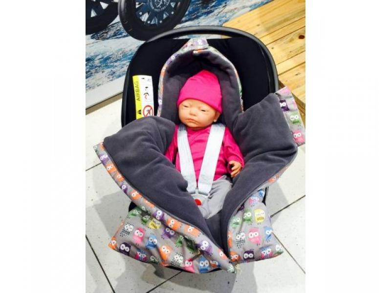My Bags - Baby fusak se sovičkami