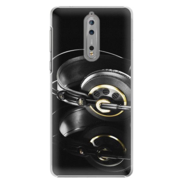 Plastové pouzdro iSaprio - Headphones 02 - Nokia 8