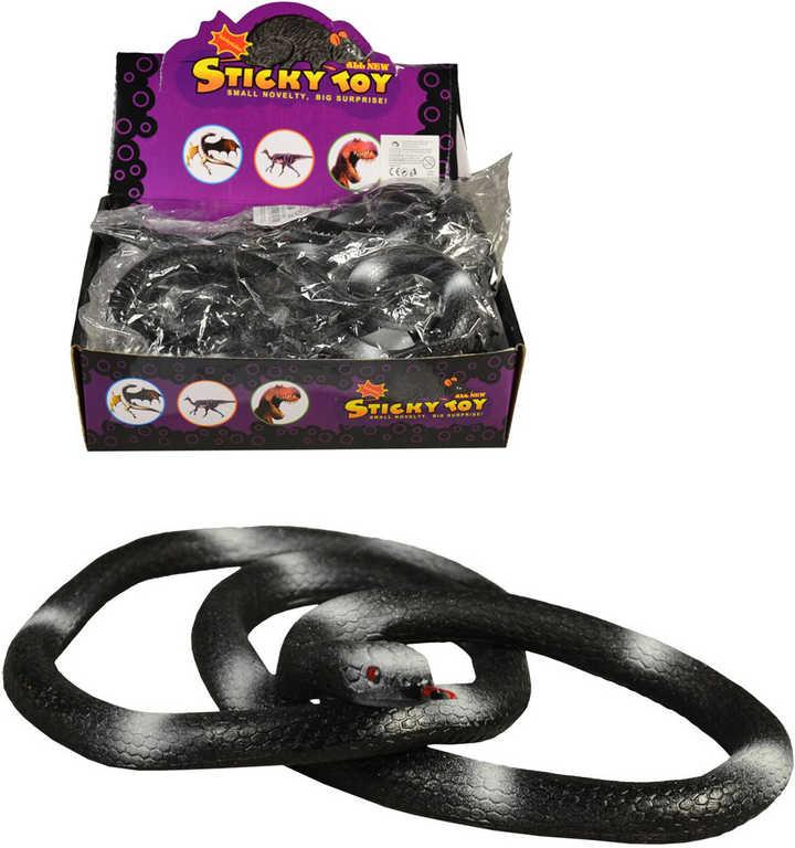 Had gumový černý 84cm dlouhý v sáčku