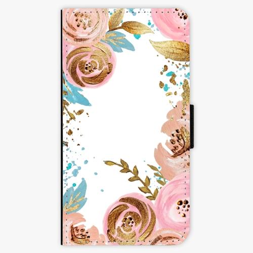Flipové pouzdro iSaprio - Golden Youth - Samsung Galaxy A3