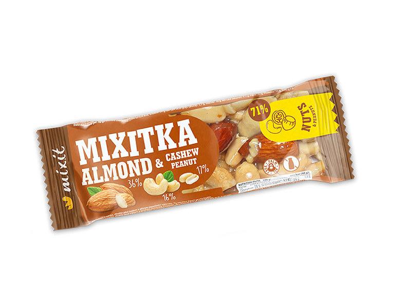 Mixitka <b>mandle</b> + <b>kešu</b> + <b>arašídy</b> 40g