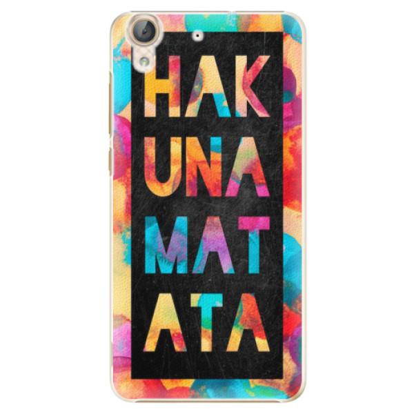 Plastové pouzdro iSaprio - Hakuna Matata 01 - Huawei Y6 II