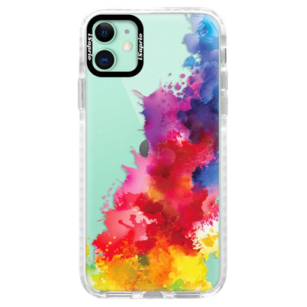 Silikonové pouzdro Bumper iSaprio - Color Splash 01 - iPhone 11