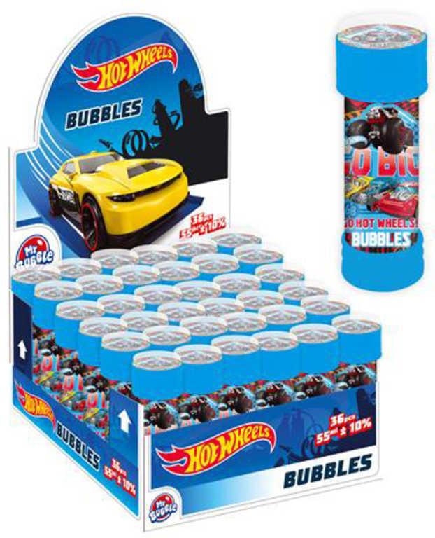 ET Bublifuk Hot Wheels 55ml dětský bublifukovač s kuličkovým labyrintem