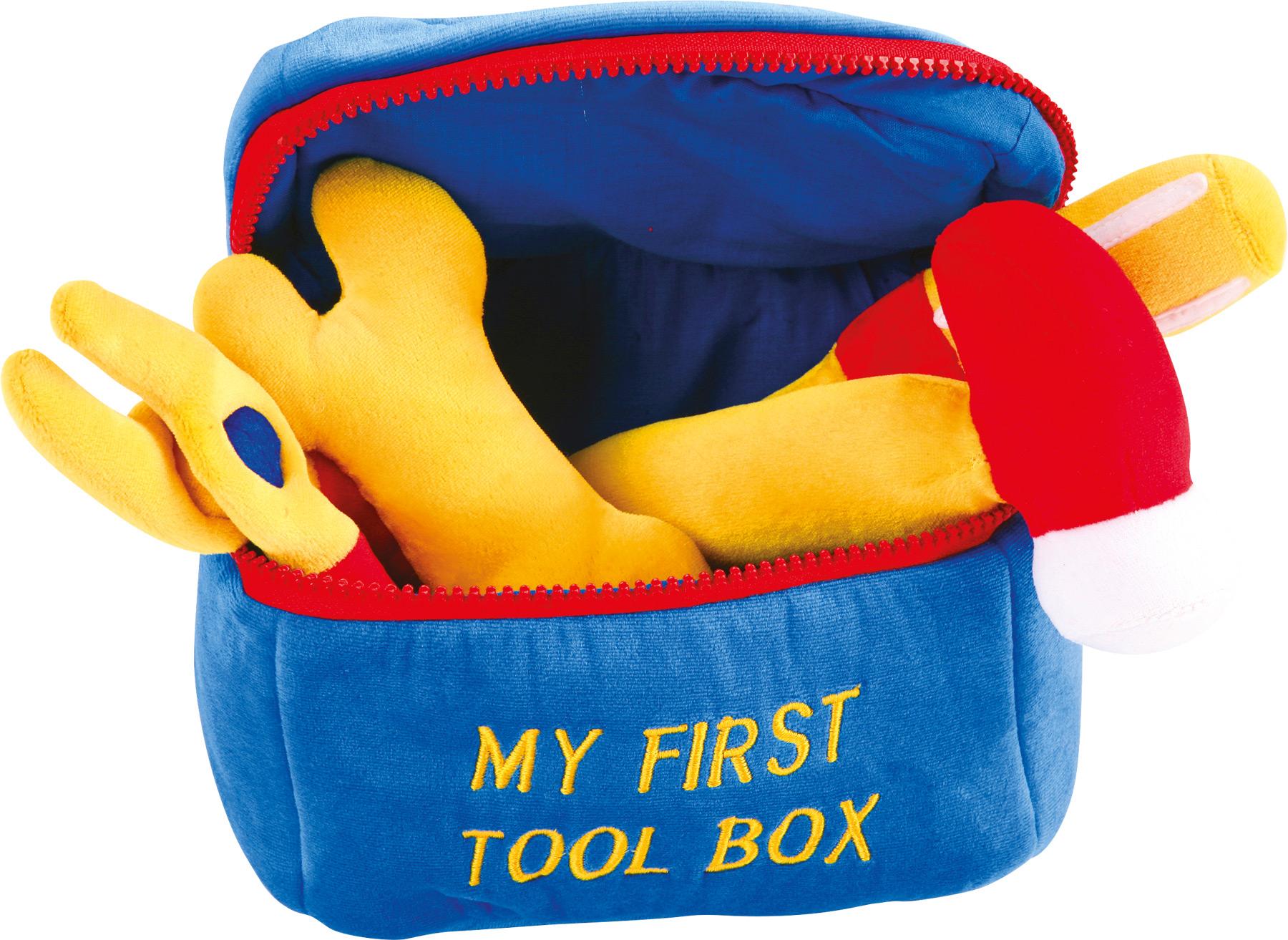 Small Foot Textilní hračky box s nářadím