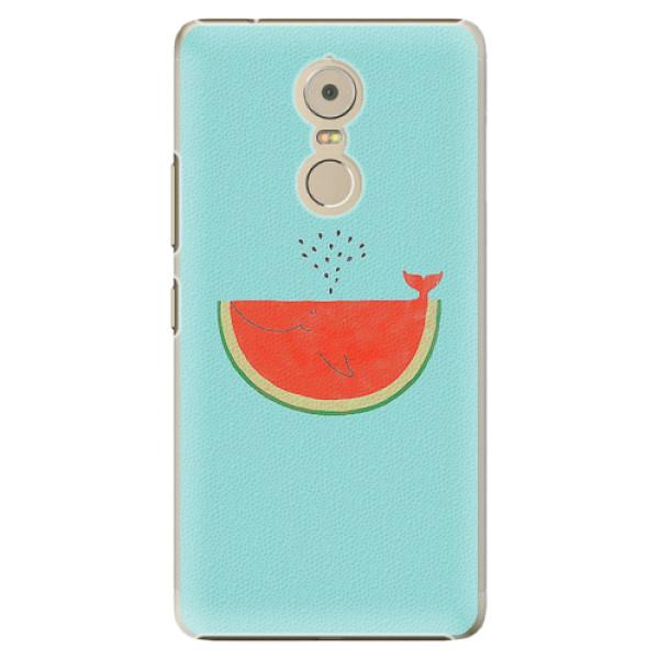 Plastové pouzdro iSaprio - Melon - Lenovo K6 Note