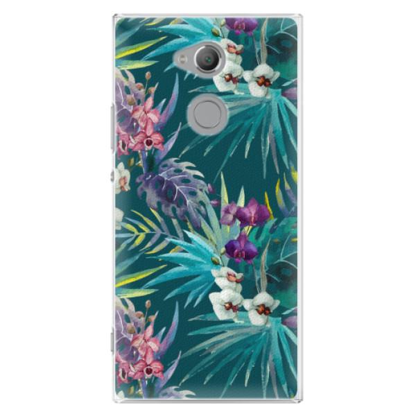 Plastové pouzdro iSaprio - Tropical Blue 01 - Sony Xperia XA2 Ultra