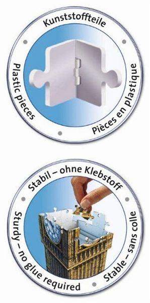 RAVENSBURGER Puzzle 3D BIG BEN 216 dílků