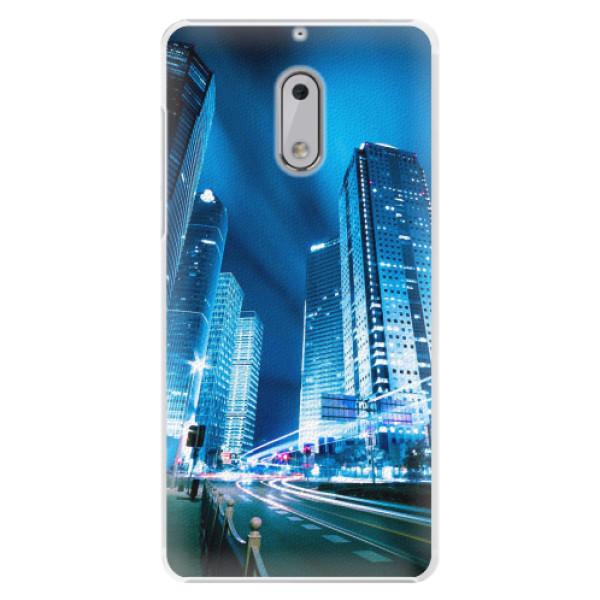 Plastové pouzdro iSaprio - Night City Blue - Nokia 6