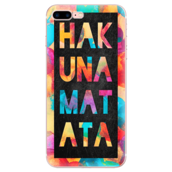 Odolné silikonové pouzdro iSaprio - Hakuna Matata 01 - iPhone 7 Plus