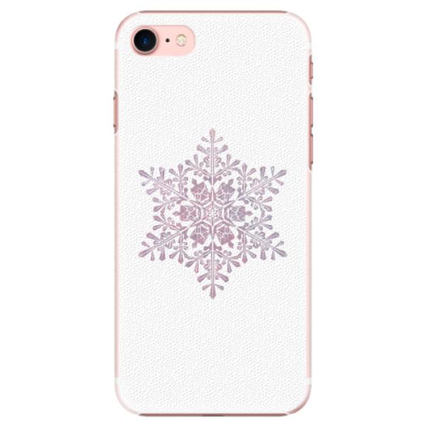Plastové pouzdro iSaprio - Snow Flake - iPhone 7