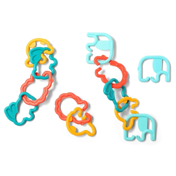 BabyOno Plastové tvary zviřátek 498 - různé barvy