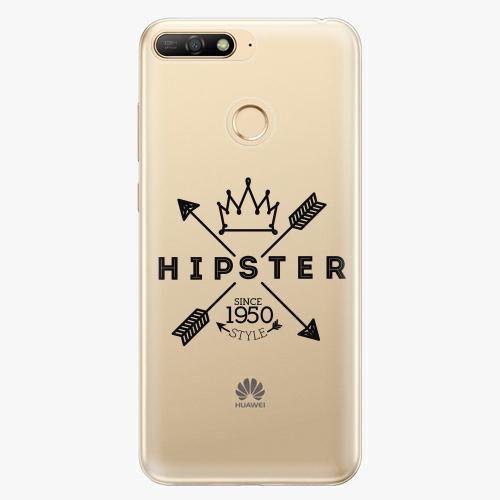 Silikonové pouzdro iSaprio - Hipster Style 02 - Huawei Y6 Prime 2018
