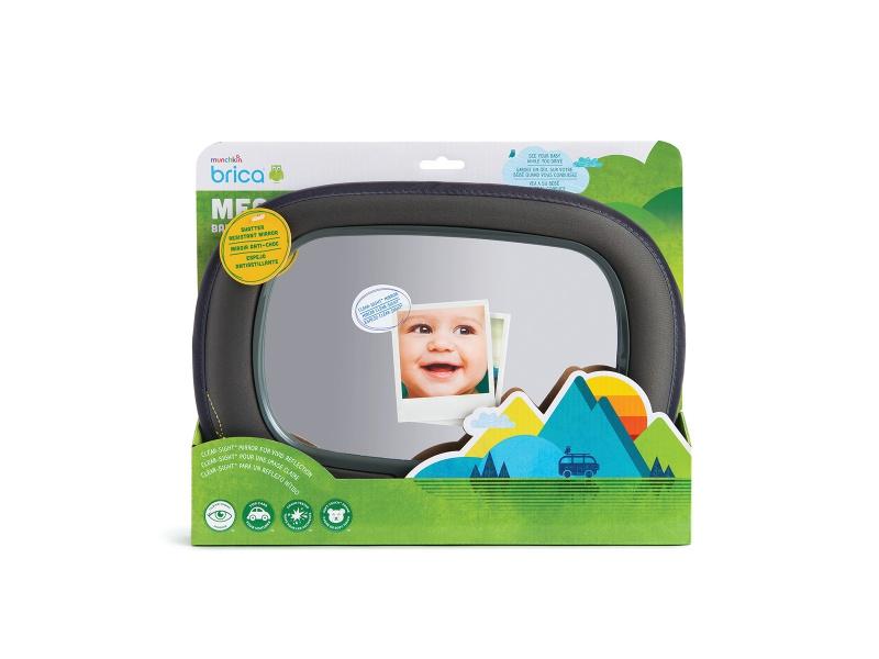 Munchkin - Zpětné zrcátko Baby In-Sight™ Mega šedé