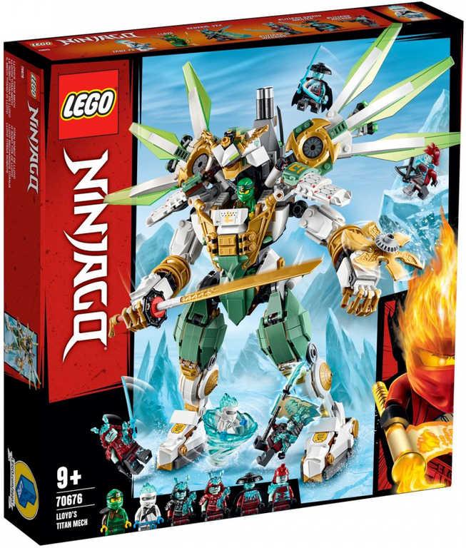LEGO NINJAGO Lloydův titanový robot 70676 STAVEBNICE