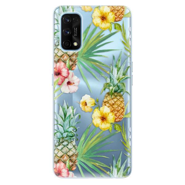 Odolné silikonové pouzdro iSaprio - Pineapple Pattern 02 - Realme 7 Pro