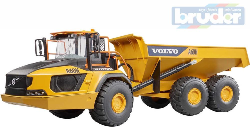BRUDER 02455 (2455) Kloubový dumper model Volvo A60D nákladní auto
