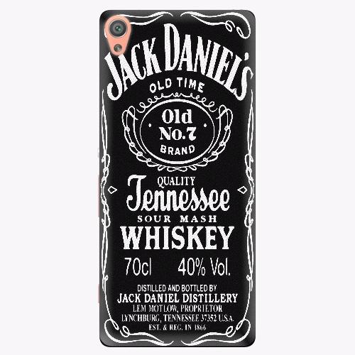 Plastový kryt iSaprio - Jack Daniels - Sony Xperia XA