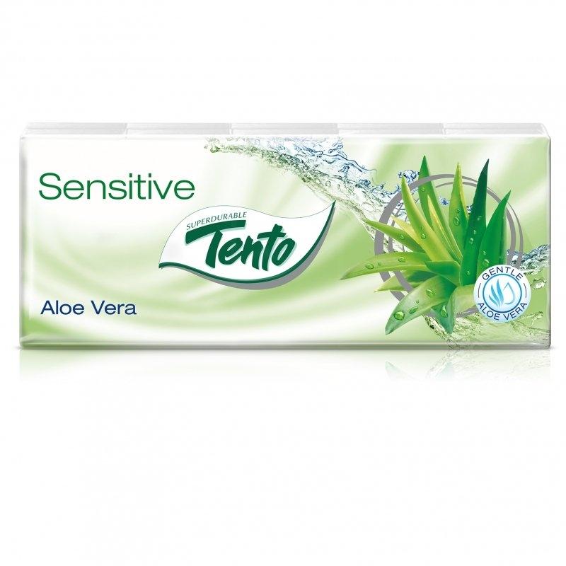 Soft Aloe Vera kapesníčky 3vrstvé (10x10ks)