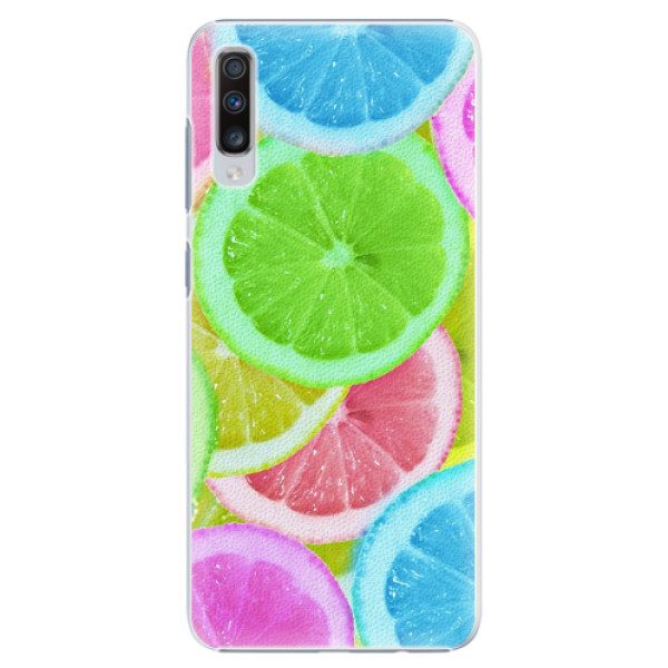 Plastové pouzdro iSaprio - Lemon 02 - Samsung Galaxy A70
