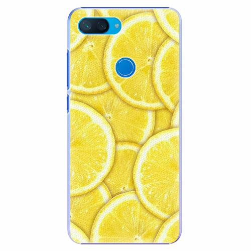 Plastový kryt iSaprio - Yellow - Xiaomi Mi 8 Lite
