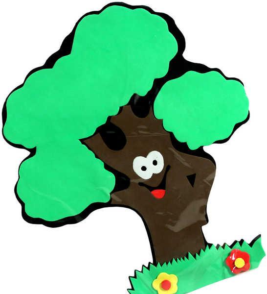 Dekorace Strom (pěnová samolepící na stěnu, sklo, nábytek apod.)