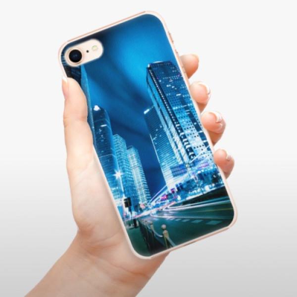 Plastové pouzdro iSaprio - Night City Blue - iPhone 8