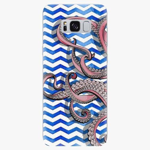 Silikonové pouzdro iSaprio - Octopus - Samsung Galaxy S8
