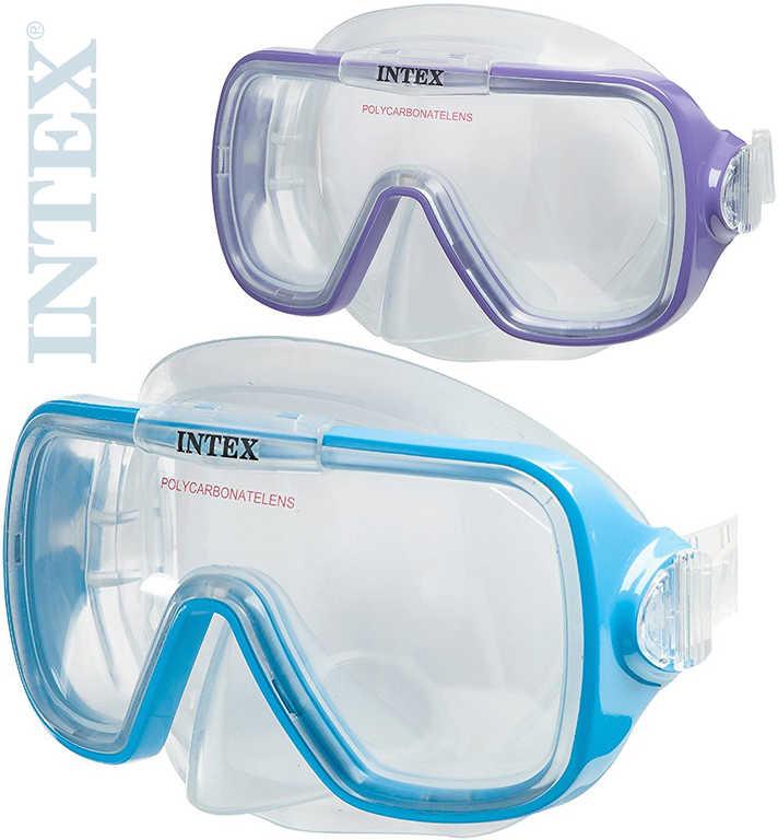INTEX Brýle dětské potápěčské Wave Rider do vody na potápění 2 barvy 55976