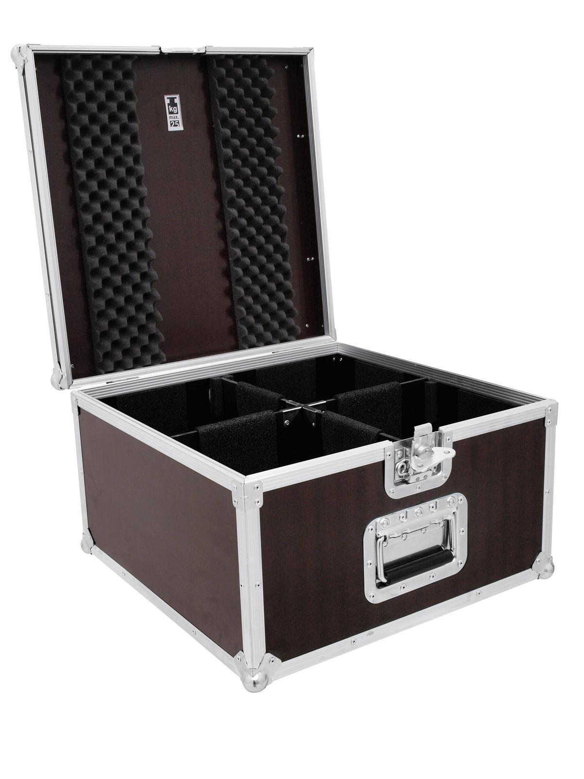 Transportní case pro 4 x PAR-LED 56 spot, krátký